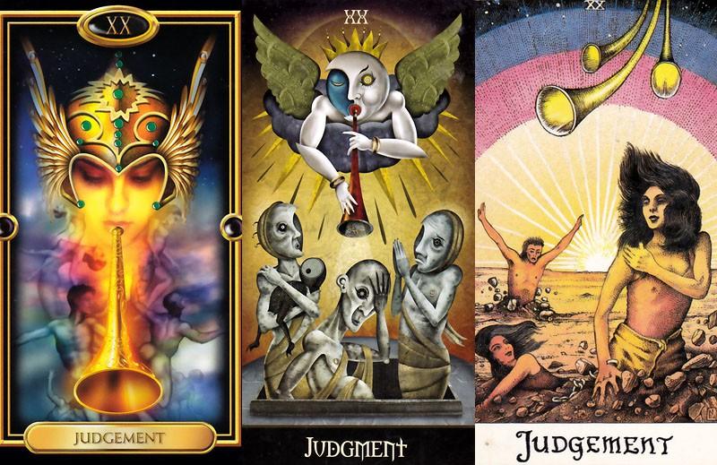 20 - Judgement Tarot Card Meaning * Tarot and Horoscopes