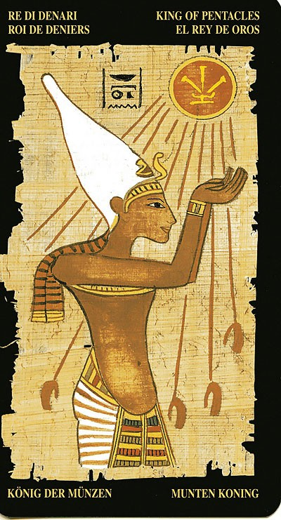 Egyptian Tarot Kit Deck Book Loscar: Egyptian Tarot * Tarot And Horoscopes